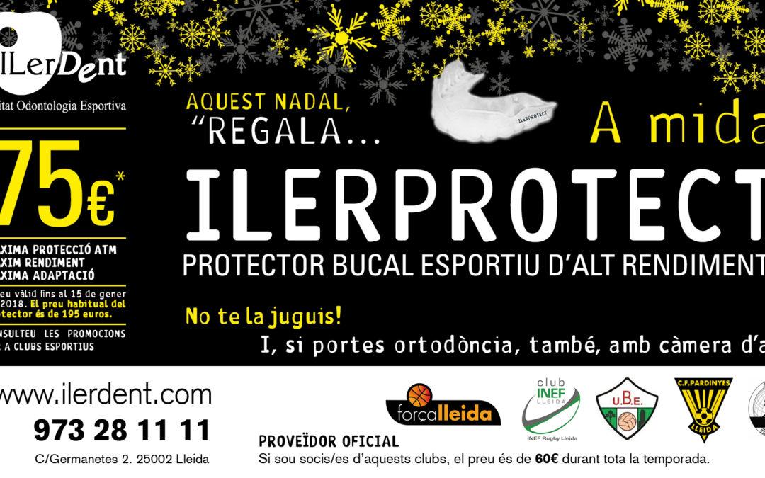 Aquest Nadal, ILERPROTECT protector bucal esportiu d'alt rendiment fet a mida, per només 75 euros