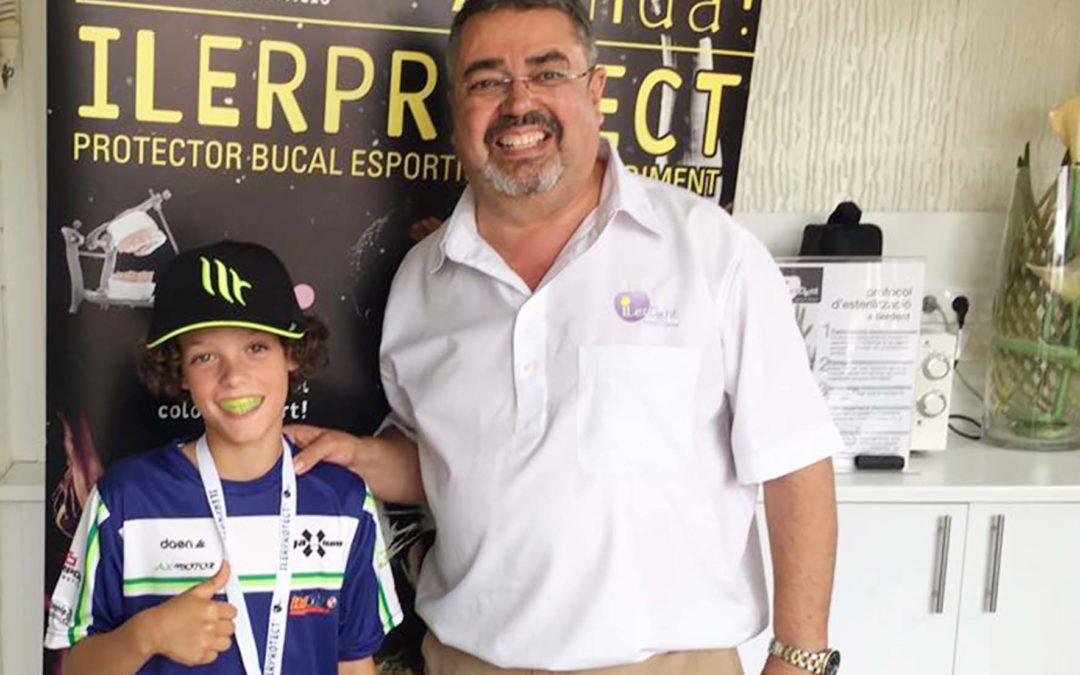 ILERPROTECT® s'alia amb les joves promeses i fitxa al pilot de motociclisme Pol Solà com a prescriptor
