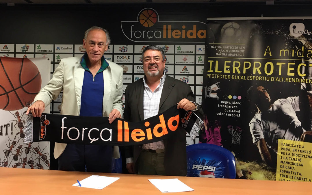 ILERPROTECT® equiparà els jugadors del primer equip del Força Lleida i promocionarà el protector bucal entre les bases del club de bàsquet