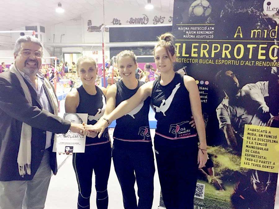 Club Gimnàstic Lleida: la gimnàstica artística femenina promou l'ús de l'ILEPROTECT®