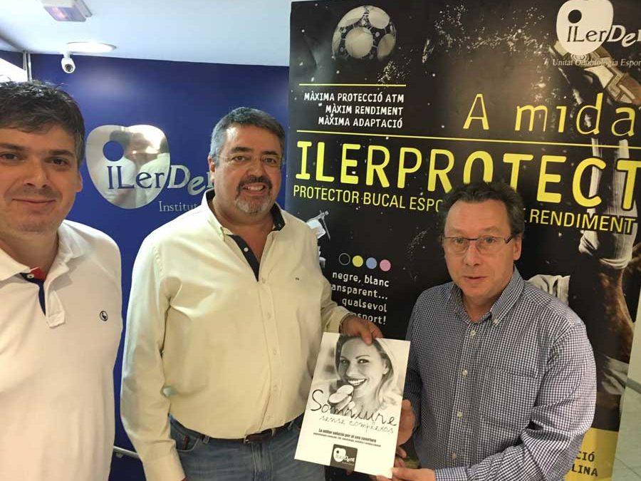 La UE Balàfia renova amb ILERPROTECT®  i aposta per fer pedagogia de l'ús del protector bucal esportiu d'alt rendiment al futbol
