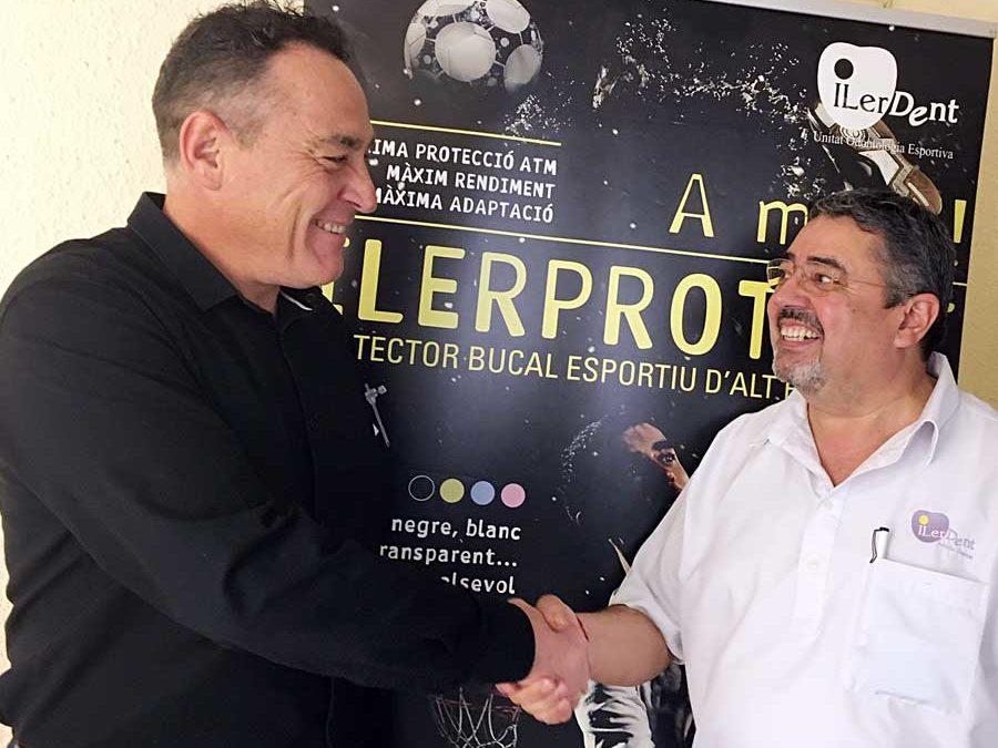 ILERPROTECT® ja juga la pista de l'Handbol Lleida Pardinyes