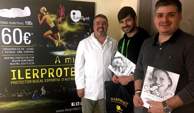 El Futbol Sala Alcoletge equipa els seus porters amb l'ILERPROTECT®