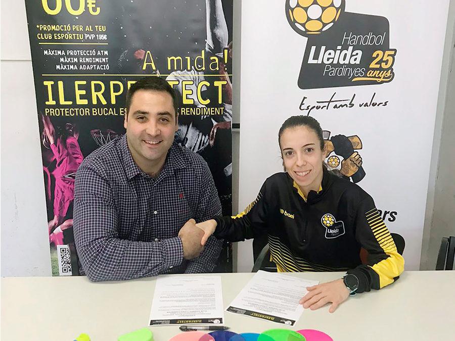 L'Handbol Lleida Pardinyes renova amb l'ILERPROTECT®