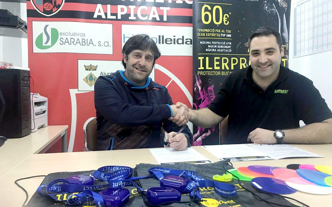 Hat-trick de l'ILERPROTECT® amb la incorporació del Club Atlètic Alpicat, la Unió Esportiva Alpicat i l'Associació Esportiva Veterans Alpicat